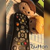 May 5: Flynn Rider and Rapunzel are trying to figure out which button turns the TV on! #day5 #may #spring2016 #fmsphotoaday #photochallenge #tsumtsum #tangled #rapunzel #flynnrider #fms_button