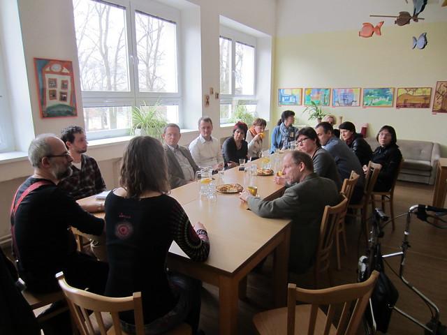 SENEL - Exkurze dilna - Site visit to workshop V Růžovém sadu, z.ú.
