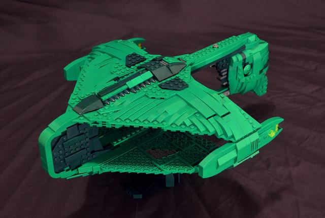 Lego Romulan Warbird