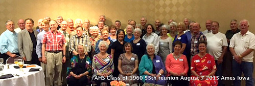 AHS Class of 1960 Ames High School 55th class reunion