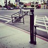 I've been whinging for years about the lack of bike racks on Huntington. And it turns out @ladotbikeprog went one better by including a bike stand. #12blaxx #losangeles #bikela #elsereno #bicyclelife