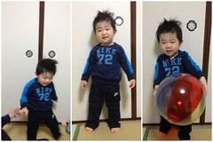頂き物の大きめナイキを着るjust do itとらちゃん(2012/2/22)