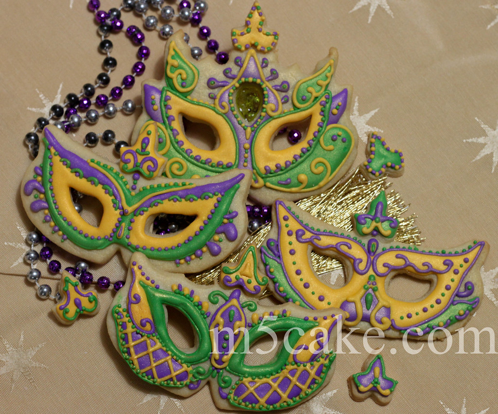 Cake Decorations For Mardi Gras