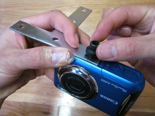 T-bracket dual camera rig