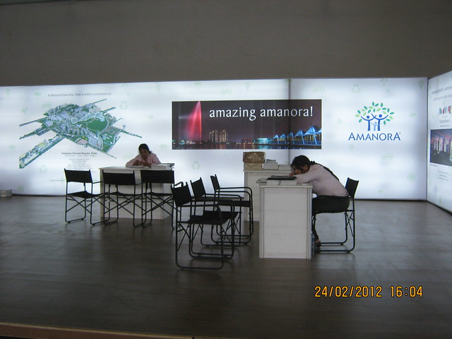 Amazing Amanora! - Visit Sakal Gudi Padwa Gruhotsav 2012, New Agriculture College Ground, Range-Hills, Sinchan-Nagar Pune 411 020