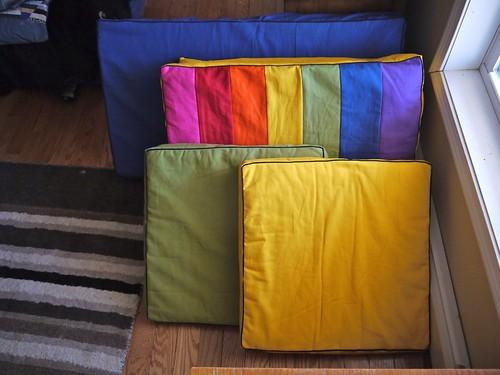 Sqaure cushions