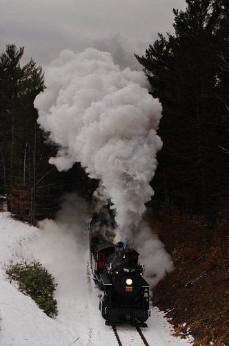 Steam in the Snow - 2012 by samjp4 (Sandy)