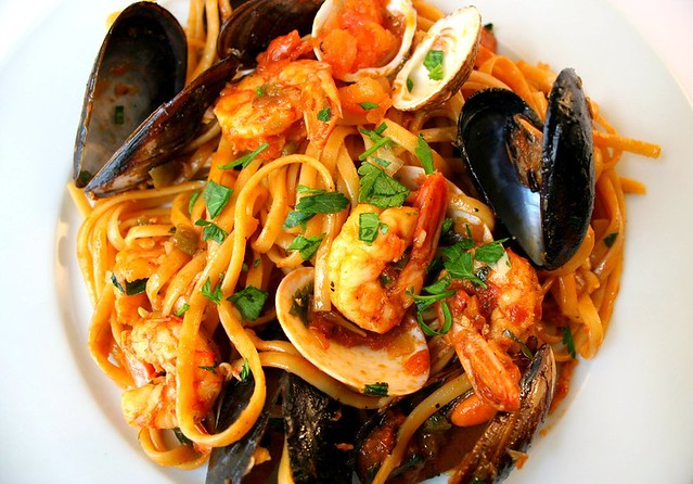 seafood pasta | Flickr - Photo Sharing!