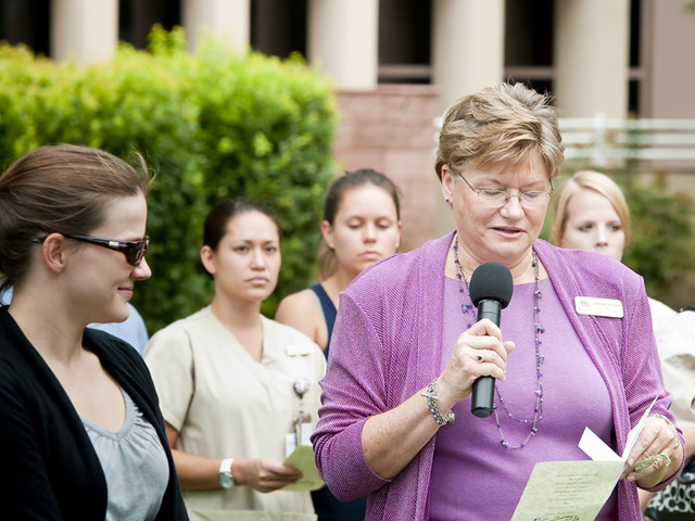 Fall 2011 Healing Presence Ceremony - NSC School of Nursing