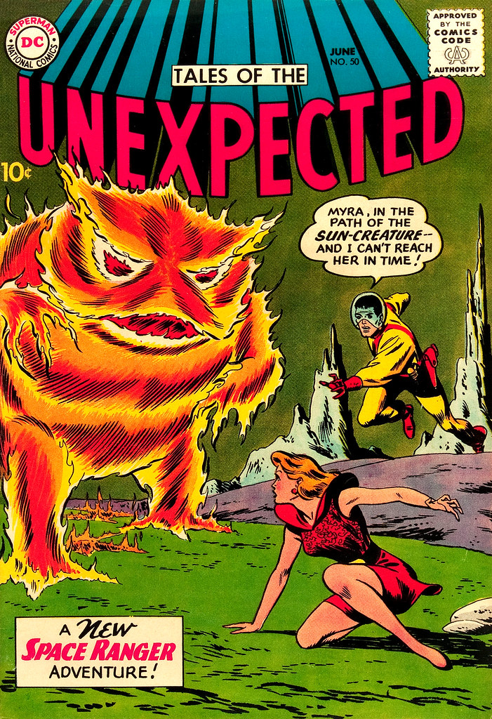 Tales of the Unexpected #50 (DC, 1960) Bob Brown cover