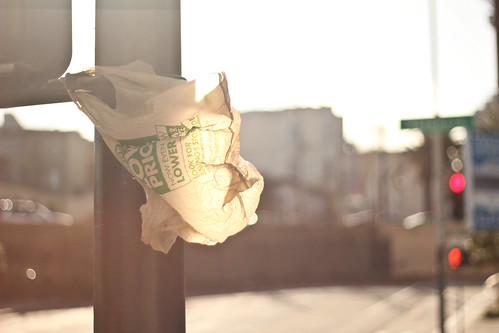 SF plastic bag