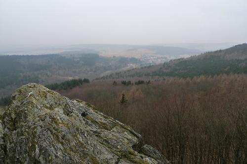 Taunusblick ins Weilbachtal. März 2012