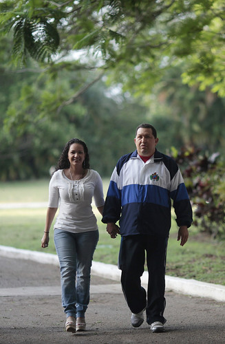 Fotos del presidente Chávez en Cuba