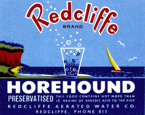 Redcliffe Horehound ale label : v3.6