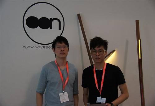Oon founders Poon Yew Wai and Lee Yoon Sheng