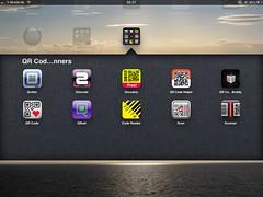 QR-code scanners iPad 2