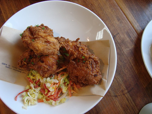 Truffle honey laced fried chicken @ MB Post
