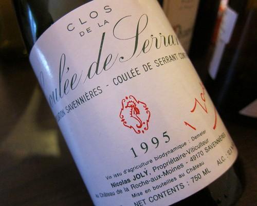 1995 Coulée de Serrant Nicolas Joly