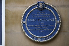 Photo of Corn Exchange, Hull blue plaque