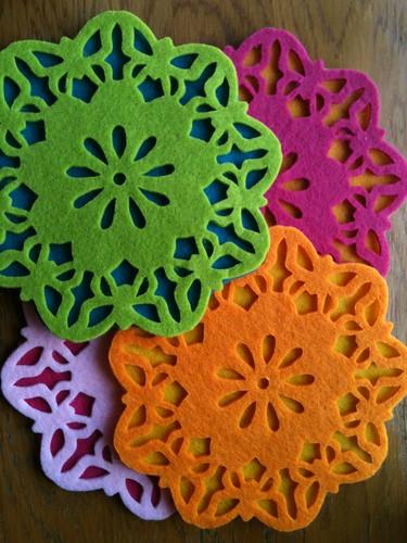Neon trivets