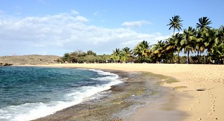 Image of Playa Mar Chiquita. beach puertorico