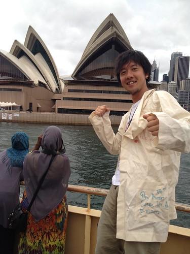 Masao Kimura, Port Jackson, Australia