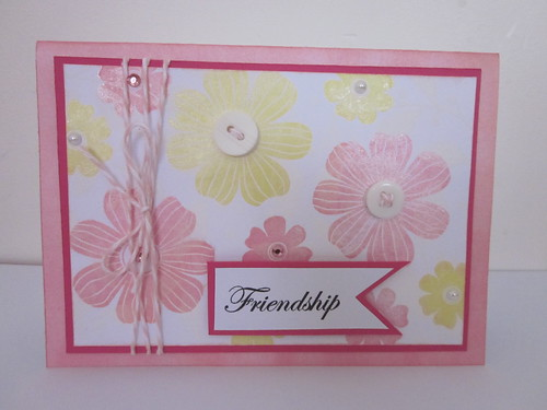 Yellow and pink flowers - Friendship