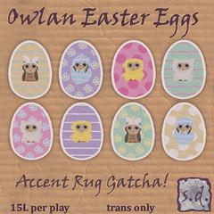 Owlan Egg Rug Gatcha