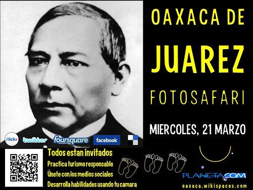Free Poster: Oaxaca de Juarez FotoSafari 03.2012