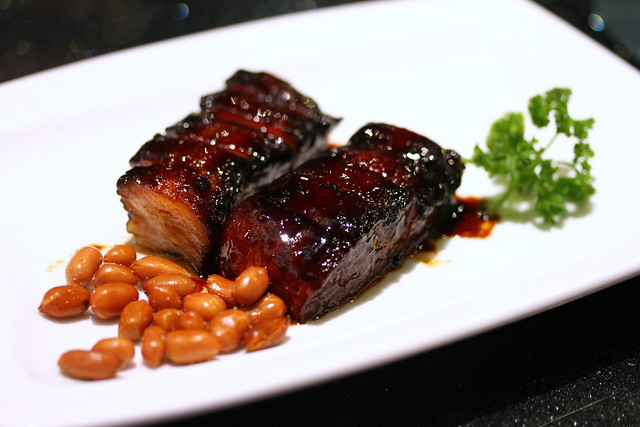 Canton Paradise: BBQ Pork Belly with Honey Sauce