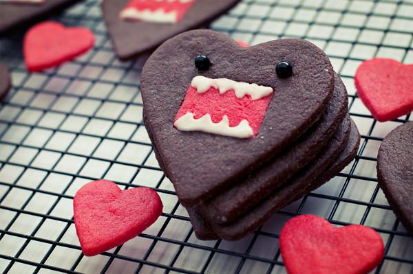 Domo Heart Cookies