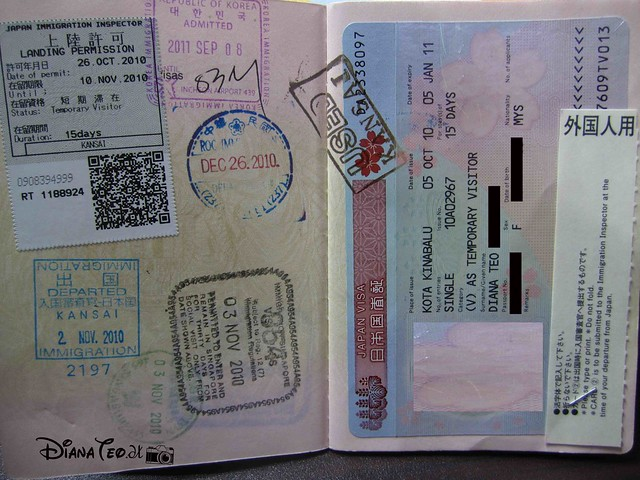 Passport Stamp Collection 03