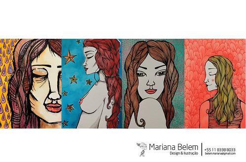 :: Série Meninas by mariana.belem