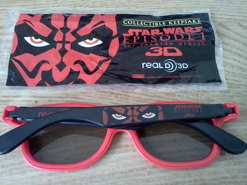 Darth Maul 3D glass