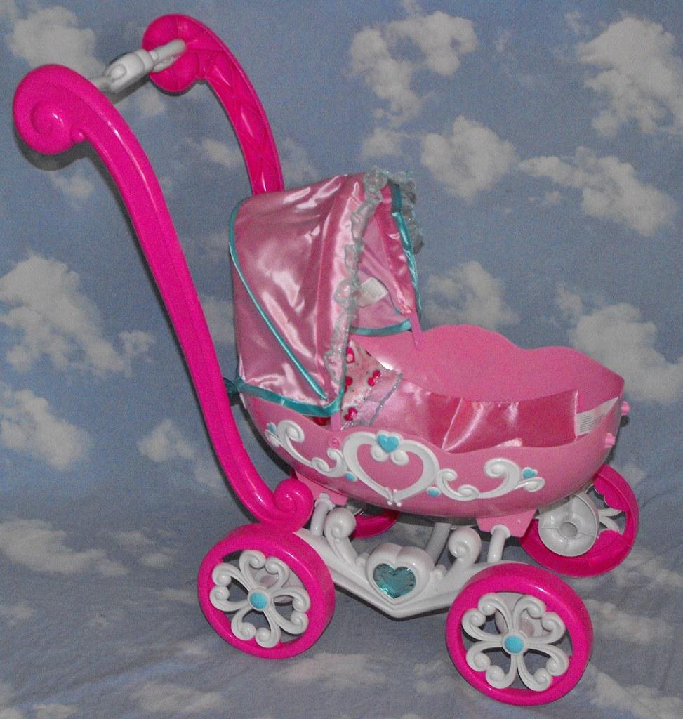 SOLD~Disney-Princess-Pram- Baby-Princess- Doll-Stroller-1 - a ...