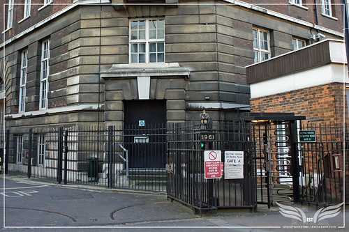 The Establishing Shot: Tinker Tailor Soldier Spy Film Location - The Circle - Gate A Blythe House London by Craig Grobler