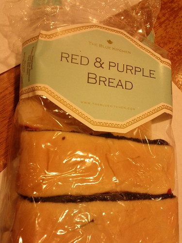 Red and purple bread - the blue kitchen