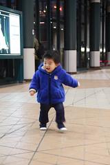 恵比寿ガーデンプレイスのとらちゃん(2012/2/12)