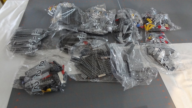 UCS: SSD Numbered bags