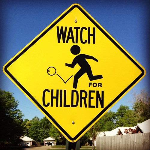 Day 84: Watch out for the children