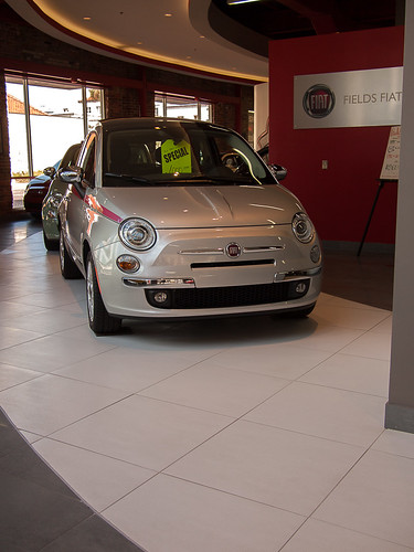 Fiats All In A Row