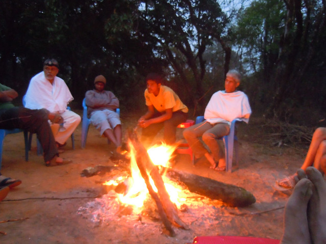 Brahmagiri_Trek_Forest_Rest_House_Campfire