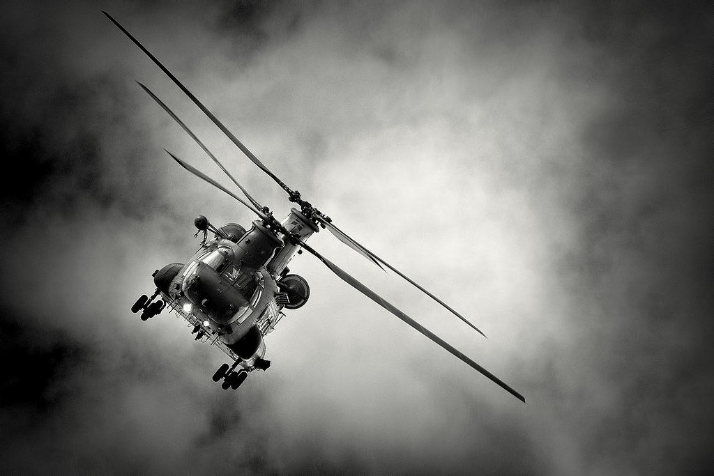 Helicopter  - Magazine cover