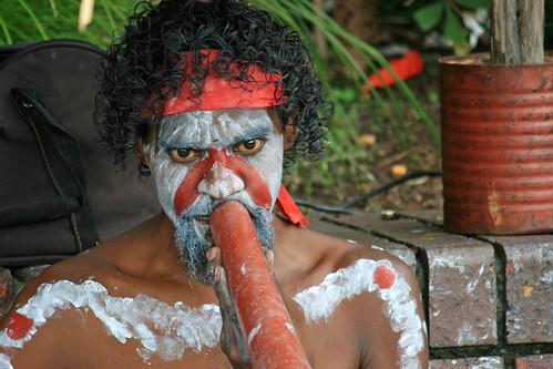 Doing the Didgeridoo