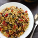 Moroccan Couscous with Chickpeas, Fast-Roasted Vegetables & Almonds by ric_w