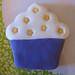 Cupcake morado
