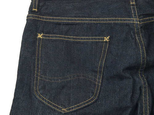 Lee for J.crew / 101B Regular Straight Selvedge Jean