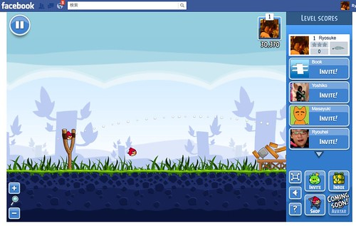 (3) FacebookのAngry Birds