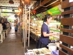 Baan Suan Pai Vegetarian Jay Food Court Bangkok
