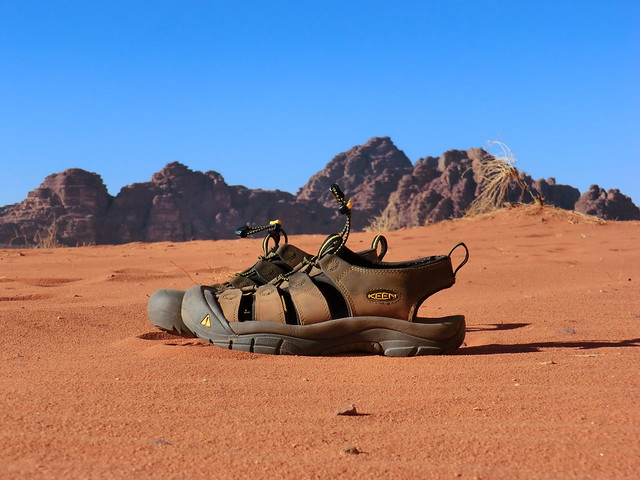 Me and My KEEN Take a Trip to Wadi Rum Desert in Jordan